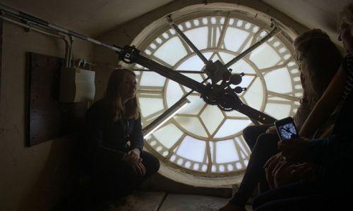 Zdjęcie ANGLIA / Somerset / Bath / Po drugiej stronie zegara