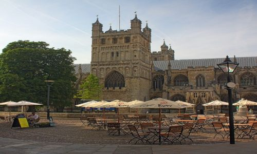 Zdjęcie ANGLIA / Devon / Exeter / Katedra w Exeter