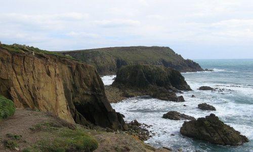 Zdjęcie ANGLIA / Cornwalia / Land's End / Na klifie