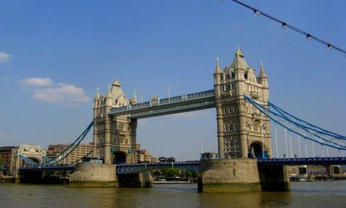 Zdjecie ANGLIA / Londyn / Tower Bridge / Zwodzony Most