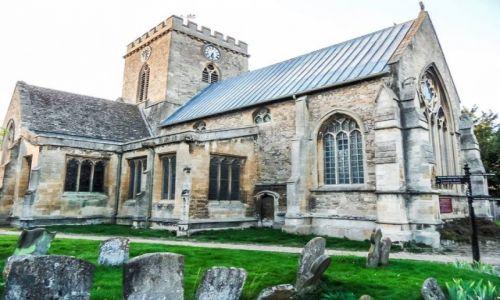 Zdjęcie ANGLIA / Oxfordshire / Wantage / czas na msze