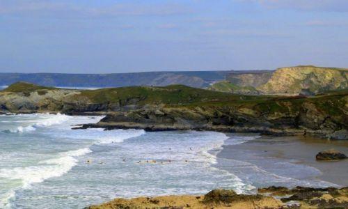 Zdjecie ANGLIA / Kornwalia / Newquay / Raj dla  surferow