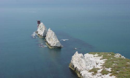 Zdjęcie ANGLIA / Isle of Wight / The Needles / The Needles