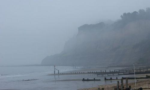 Zdjęcie ANGLIA / Isle of Wight / Isle of Wight / Angielska mgła