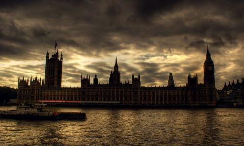 Zdjęcie ANGLIA / Greater London / brzeg Tamizy / Londyński Parlament