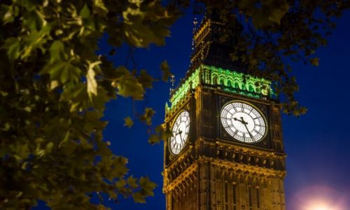 Zdjecie ANGLIA / London / London / Big Ben by night