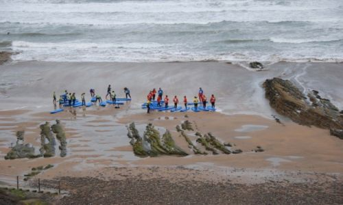 Zdjecie ANGLIA / Kornwalia / Bude / Keep calm go surfing