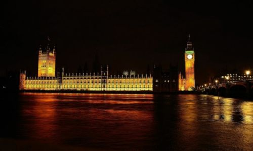 Zdjecie ANGLIA / Greater London / nad Tamizą / Westminster Palace & Big Ben