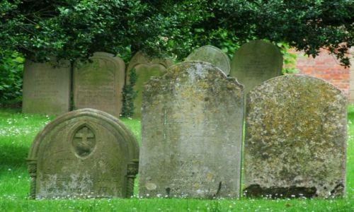 Zdjęcie ANGLIA / Cambridgeshire / Fenstanton / Cmentarz przy kościele Piotra i Pawła 2