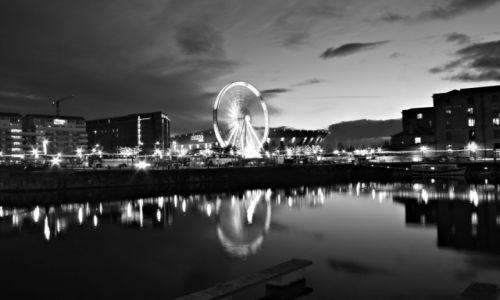 Zdjęcie ANGLIA / Merseiside / Liverpool / B&W Liverpool