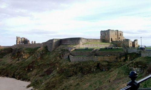 Zdjecie ANGLIA / Północna Anglia / Tynemouth / Zamek i Klasztor