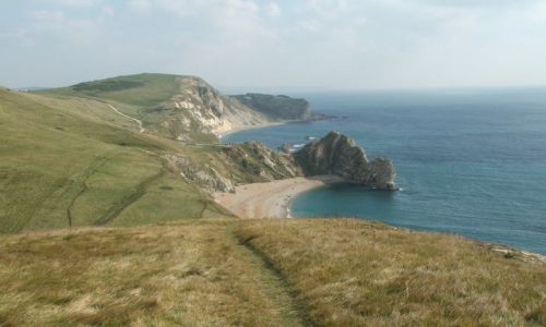 Zdjęcie ANGLIA / Dorset / Durdle Door / Panorama