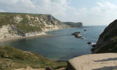 Zdjęcie ANGLIA / Dorset / Durdle Door / Z drugiej strony