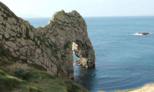 Zdjecie ANGLIA / Dorset / Durdle Door / Trąba