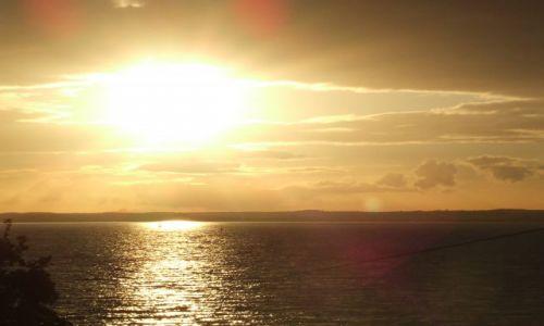 Zdjęcie ANGLIA / Isle Of White / poludniowa anglia / zachod1