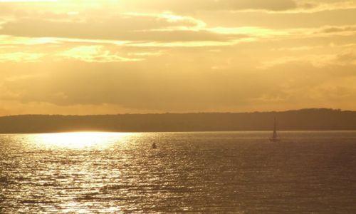 Zdjęcie ANGLIA / Isle Of White / poludniowa anglia / zachod2