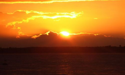 Zdjęcie ANGLIA / Isle Of White / poludniowa anglia / zachod3