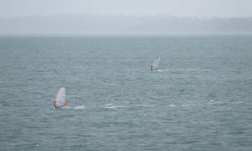 Zdjęcie ANGLIA / Isle Of White / poludniowa anglia / chwila przed burza