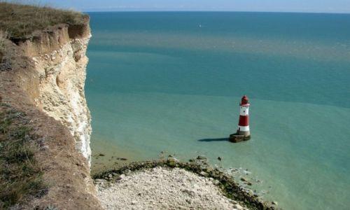 Zdjęcie ANGLIA /  East Sussex /  Eastbourne  / Beachy head