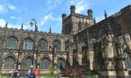 Zdjęcie ANGLIA / Cheshire / Chester / Katedra