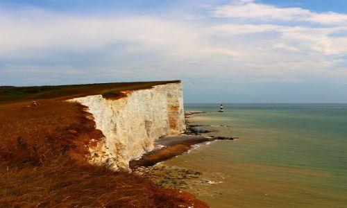 Zdjęcie ANGLIA / sassex / Eastbourne / Klify..
