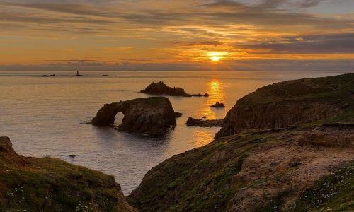 Zdjecie ANGLIA / Cornwall / Land's End / Land's End