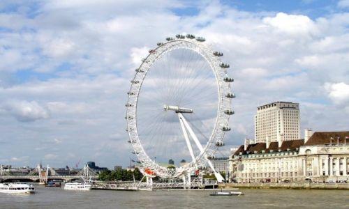 Zdjecie ANGLIA / Londyn / Londyn / Koło
