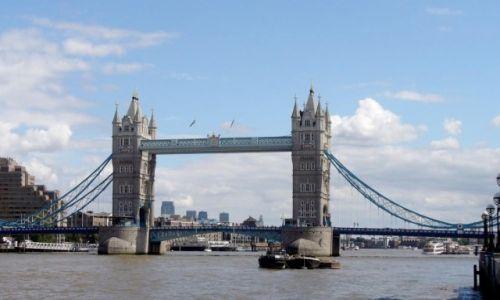Zdjecie ANGLIA / Londyn / Londyn / Tower Bridge