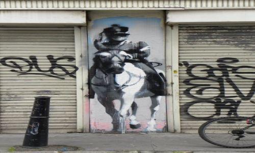 Zdjecie ANGLIA / Londyn / Brick Lane / street art 2