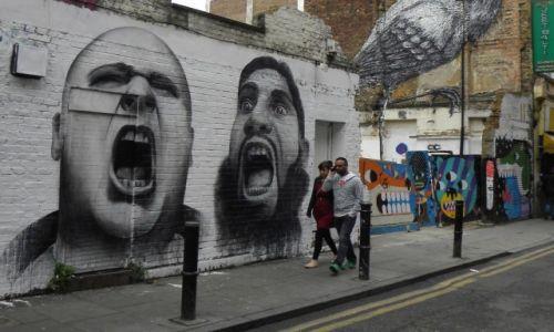 Zdjecie ANGLIA / Londyn / Brick Lane / street art 5
