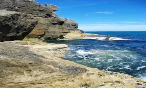 Zdjęcie ANGLIA / hampshire / south west coast path / woda i skała