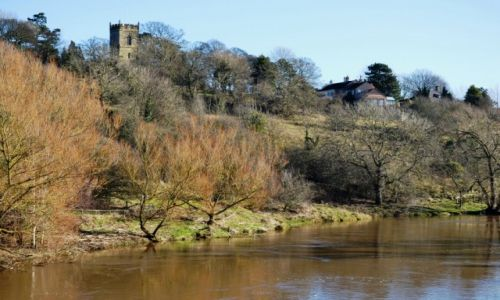 Zdjęcie ANGLIA / North Yorkshire / Yarm / rzeka Tees