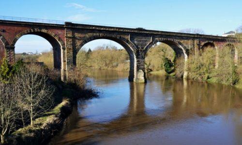 ANGLIA / North Yorkshire / Yarm / wiadukt