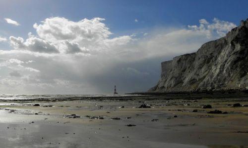 Zdjęcie ANGLIA / sassex / Eastbourne / pogoda zmienną jest