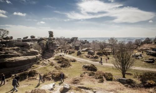 Zdjecie ANGLIA / yorkshire / Brimham Rocks / Brimham Rocks