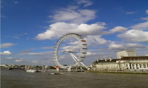 Zdjecie ANGLIA / Wielki Londyn / Londyn / Oko londy�skie