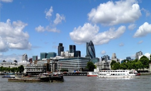 Zdjęcie ANGLIA / Wielki Londyn / Londyn / Nad Tamizą
