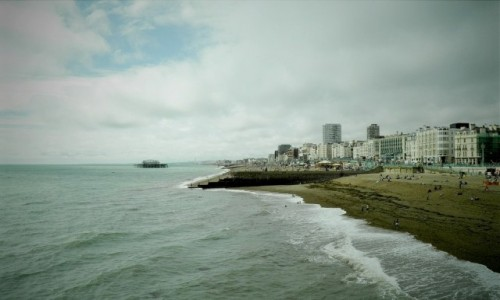 Zdjęcie ANGLIA / Wielki Londyn / Brighton / Plaża w Brighton