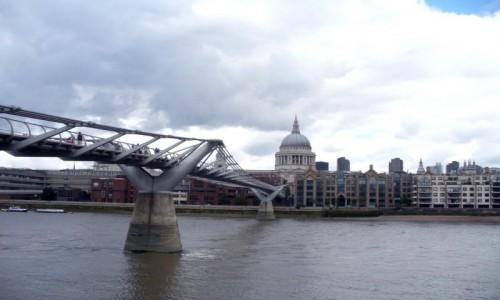 Zdjecie ANGLIA / Londyn Wielki / Londyn / K�adka dla pies