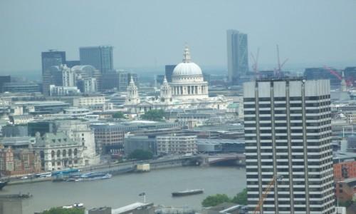 Zdjecie ANGLIA / Wielki Londyn / Londyn / Panorama Londyn