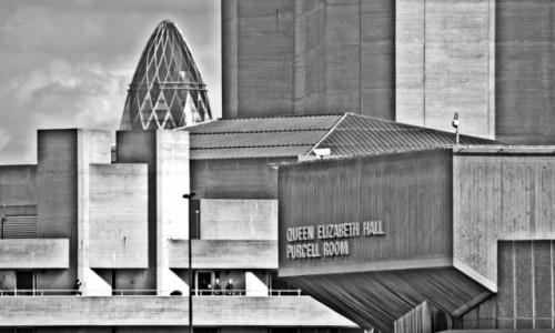 Zdjęcie ANGLIA / City / Londyn / Queen Elizabeth Hall