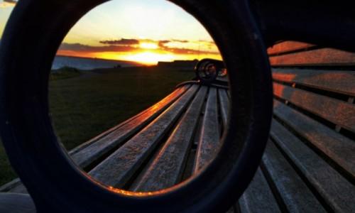 Zdjęcie ANGLIA / Hampshire / Portsmouth / Zachód słońca