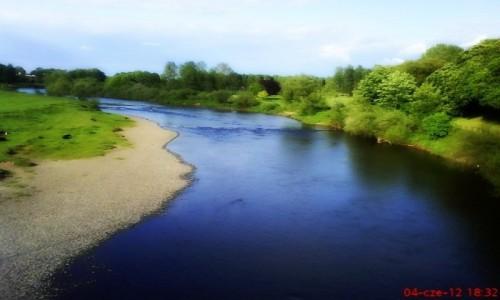 Zdjecie ANGLIA / Cumbria / Carlisle / rzeka Eden
