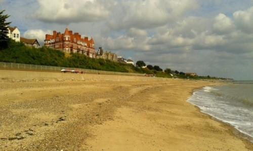 Zdjęcie ANGLIA / Essex / Clacton-on-Sea / brzegiem morza