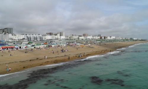 Zdjęcie ANGLIA / Wielki Londyn / Londyn / Plaża w Brighton