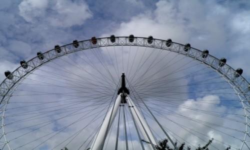 Zdjęcie ANGLIA / Wielki Londyn / Londyn / Londyńskie Oko