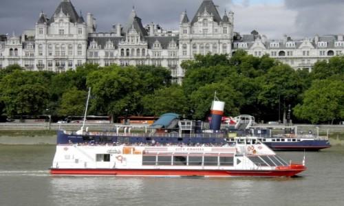 Zdjęcie ANGLIA / Wielki Londyn / Londyn / Statkiem po Tamizie