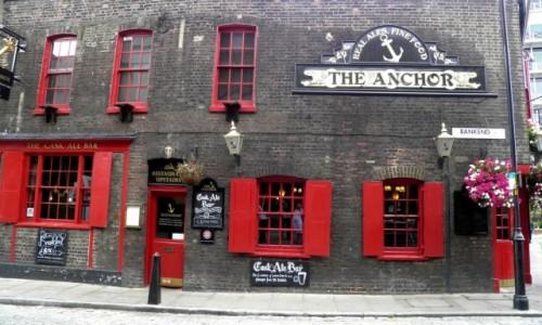 Zdjęcie ANGLIA / Wielki Londyn / Londyn / Najstarszy pab w Londynie