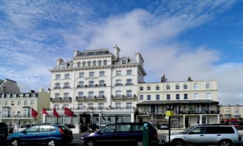 Zdjęcie ANGLIA / Wielki Londyn / Brighton / Ulica przy plaży