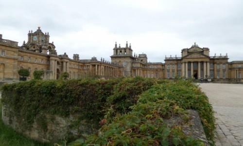 Zdjecie ANGLIA / Oxfordshire / Blenheim Palace / Pałac